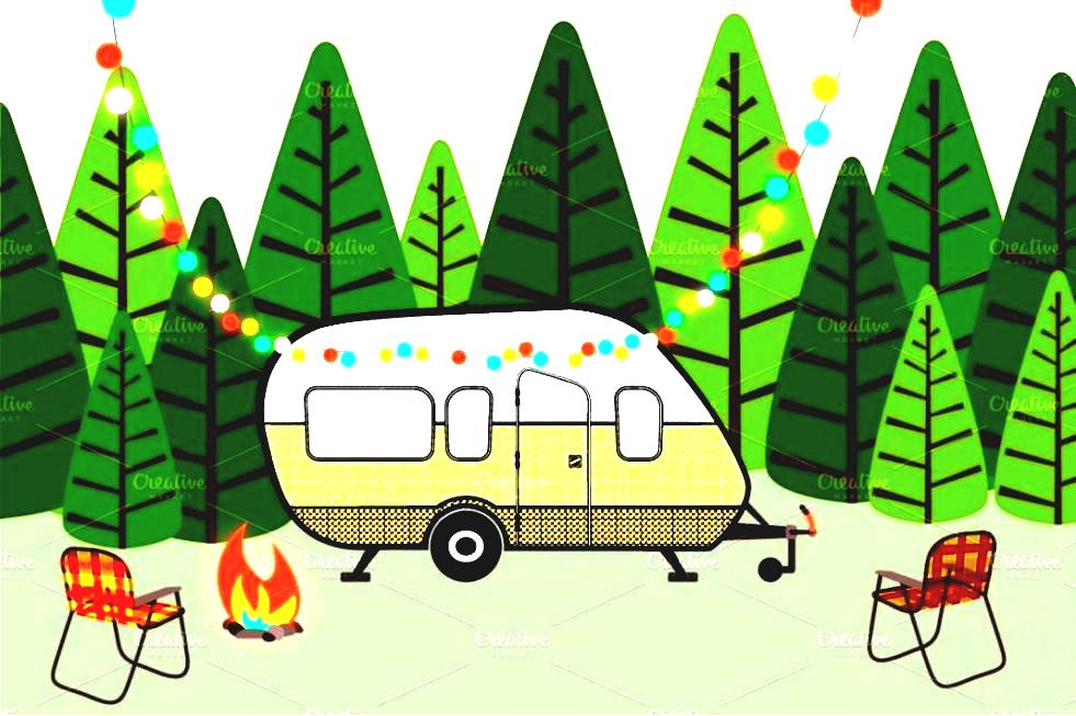 981x653 Camping Clipart Rv Camping