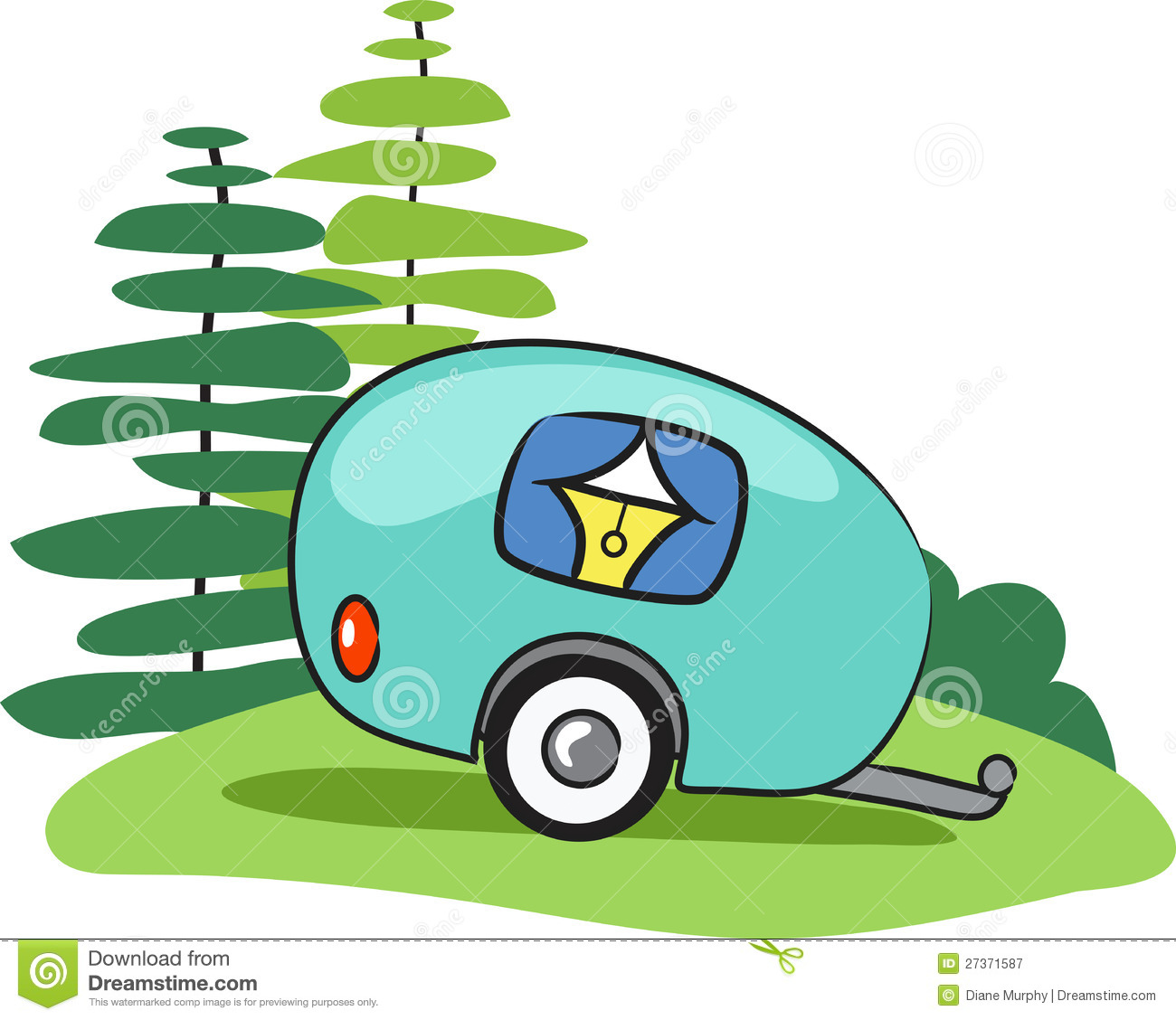 Rv Camping Clipart | Free download best Rv Camping Clipart on ...