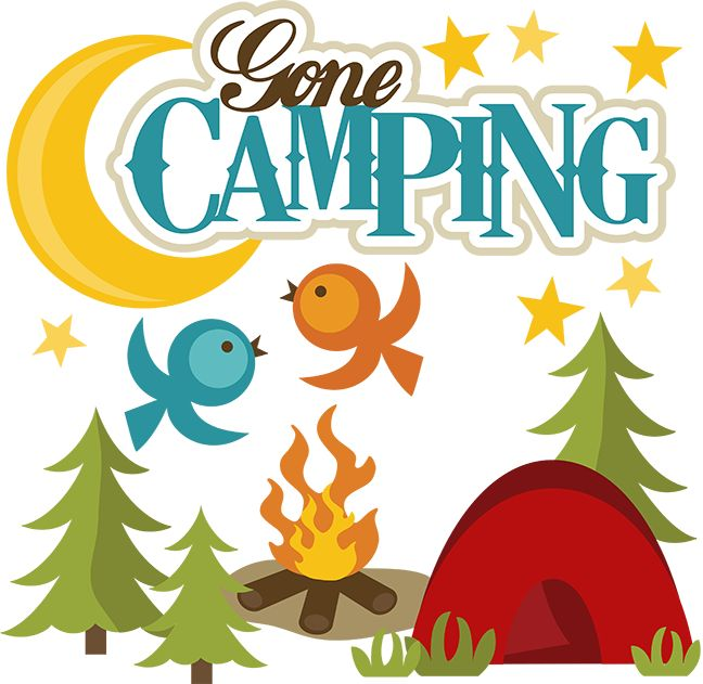 648x631 Gone Camping Clip Art