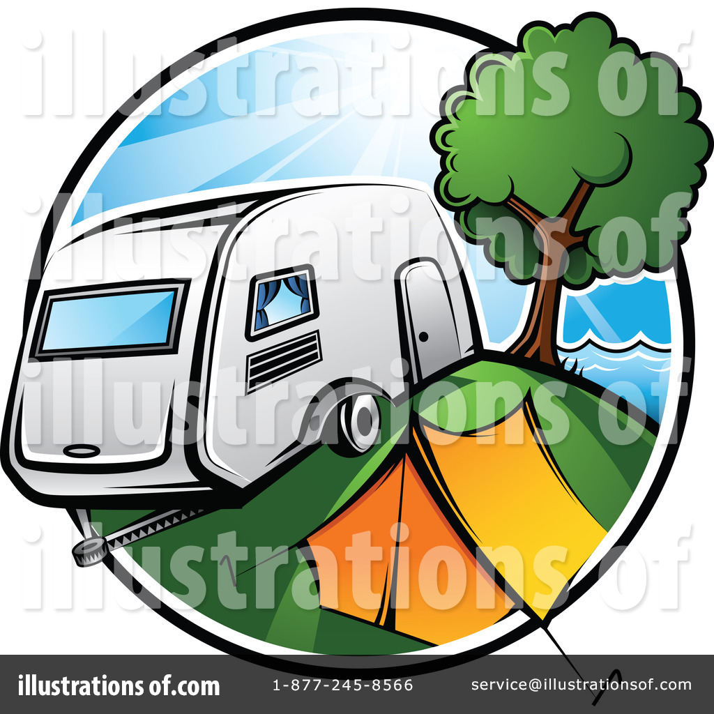 1024x1024 Rv Travel Cartoon Clipart