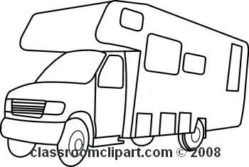 350x235 Rv Cartoon Clipart