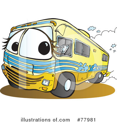 400x420 Cartoon Rv Clipart