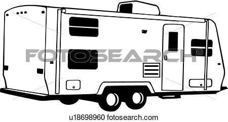 450x241 Clipart Camper Recreation
