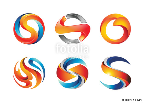 500x360 Letter S Logo Design Elements Stock Image And Royalty Free Vector