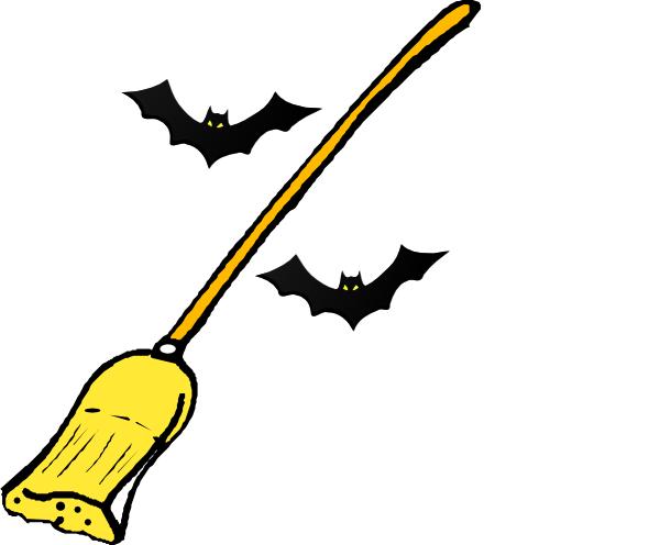600x496 Witch S Broom Clip Art