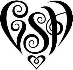 236x227 Jamps Heart Design Tattoo, Tatting And Tatoos