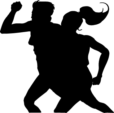 368x367 Race Walking Clip Art