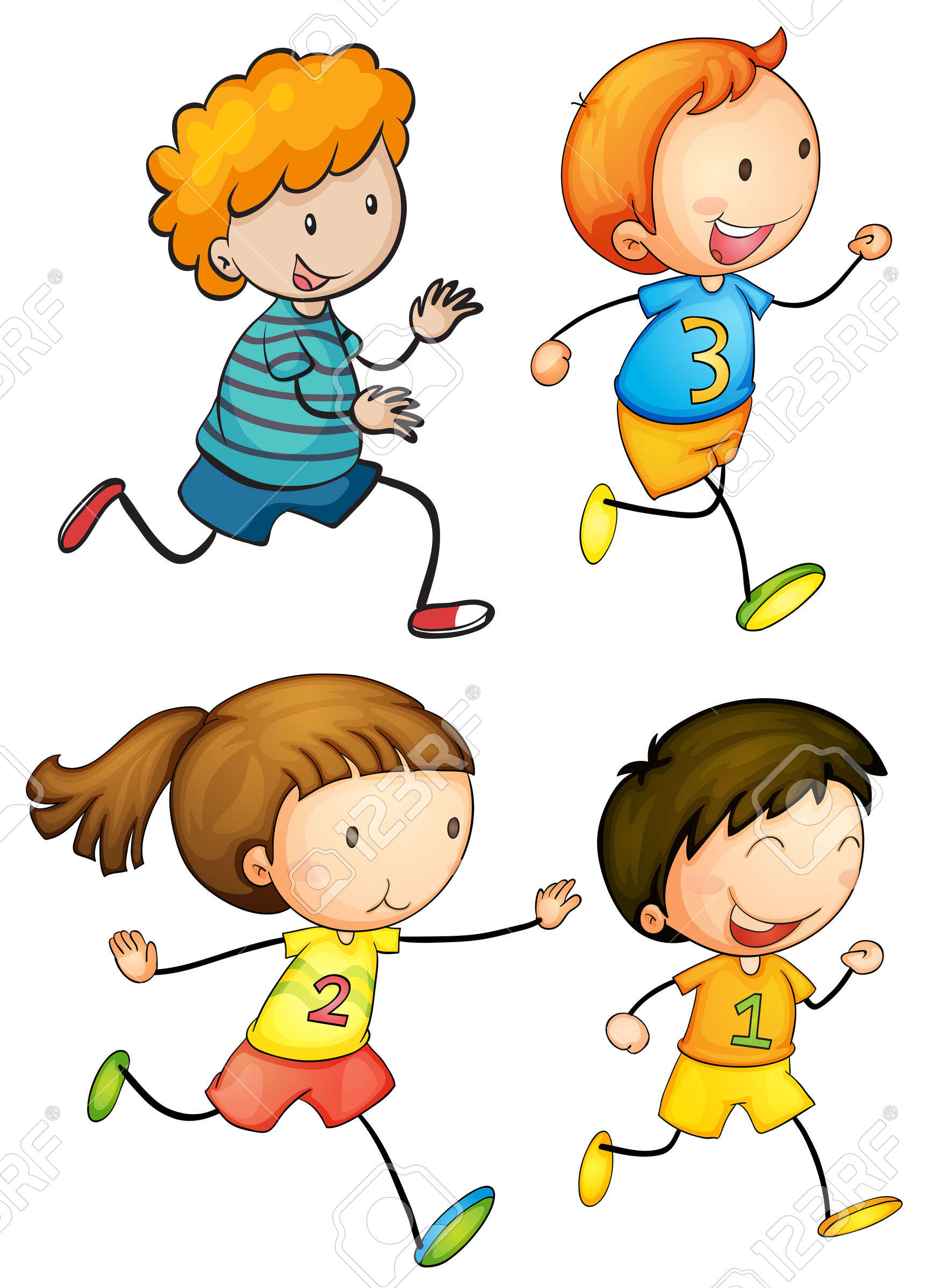 1751x2395 Race Clipart Kids Run