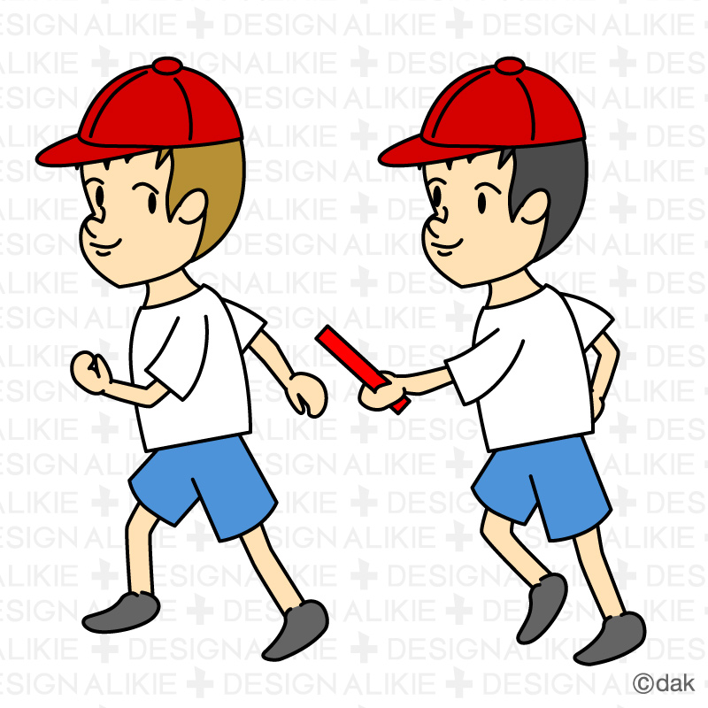 800x800 Relay Race Clipart