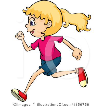 400x420 Running A Race Clipart