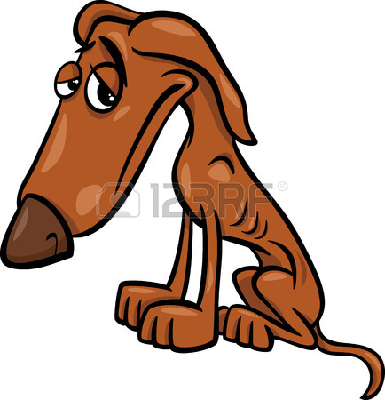 434x450 2,455 Sad Dog Stock Illustrations, Cliparts And Royalty Free Sad