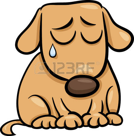 443x450 Puppy Clipart Sad Animal