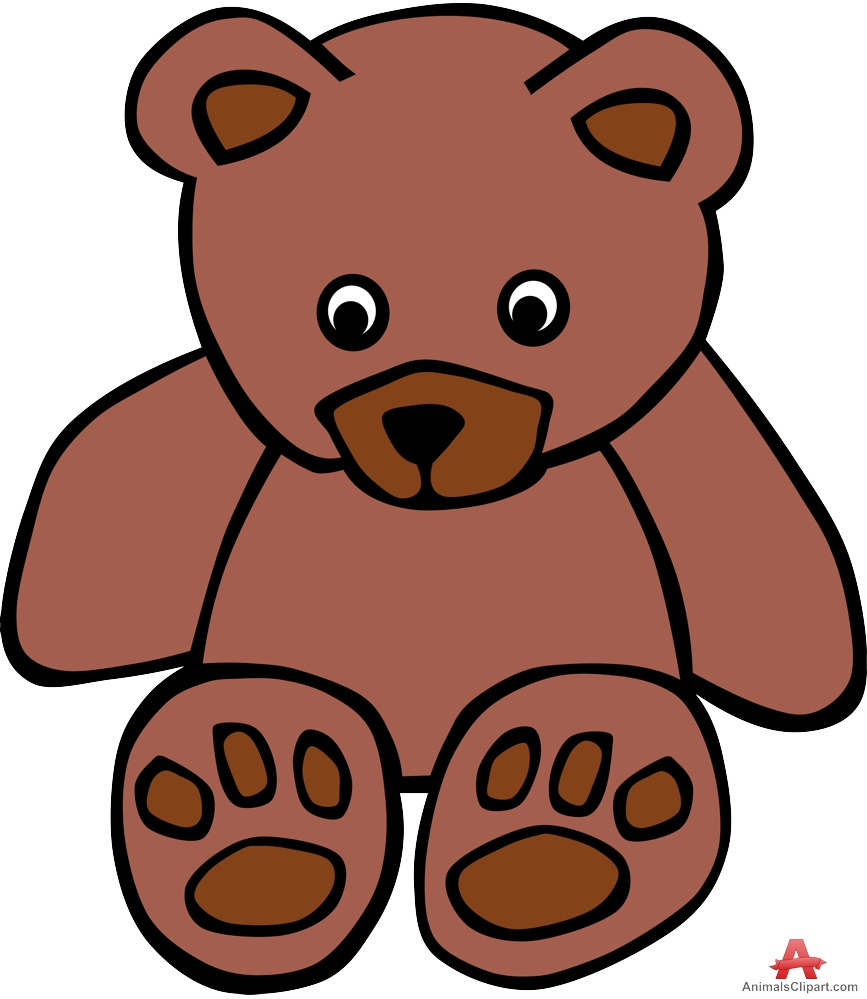 867x999 Sad Sitting Teddy Bear Free Clipart Design Download