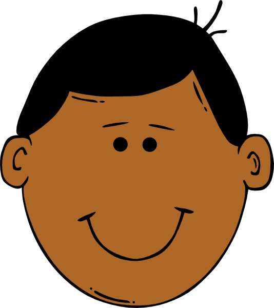 534x600 Face Cartoon Clipart
