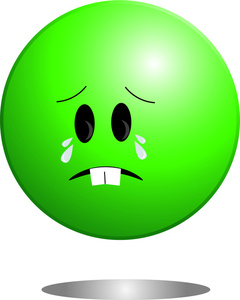 240x300 Cartoon Sad Face Clipart