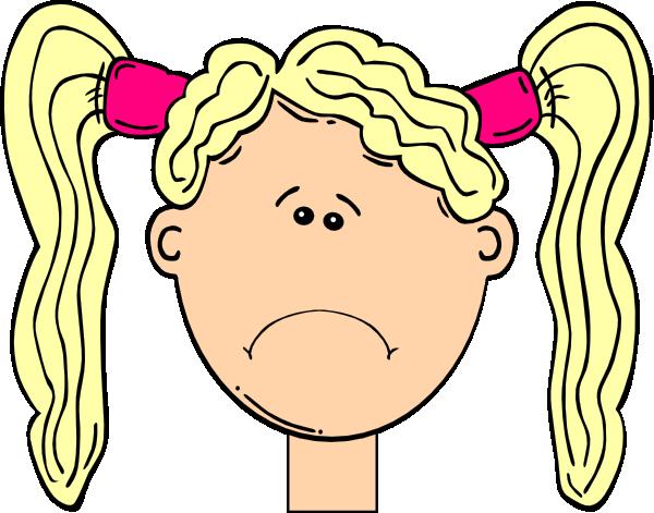 600x471 Sad Girl Clip Art