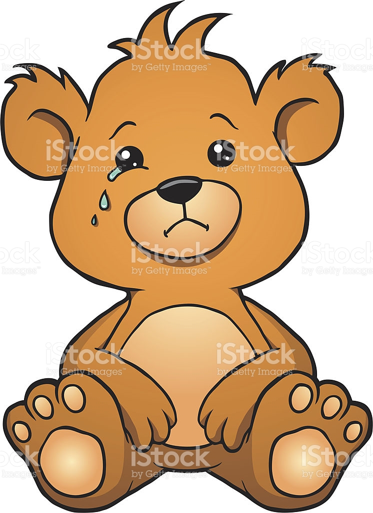746x1024 Bear Clipart Sad