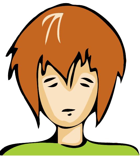 534x595 Sad Person Clip Art