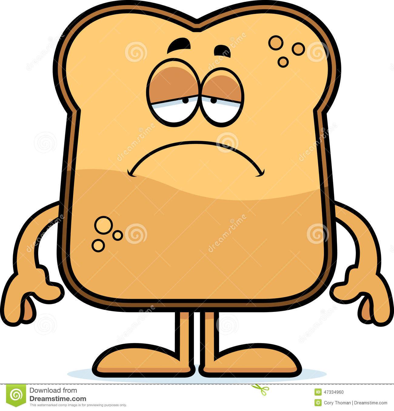 1300x1356 Bread Clipart Sad