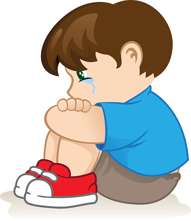 386x445 Boy Clipart Sad