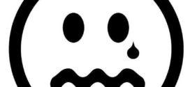 272x125 Sad Face Clip Art Black And White Clipart Panda