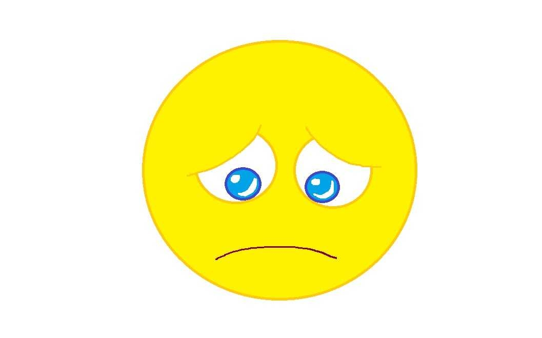 1057x659 Sad Face Clip Art Gclipart On Sad Face Hd