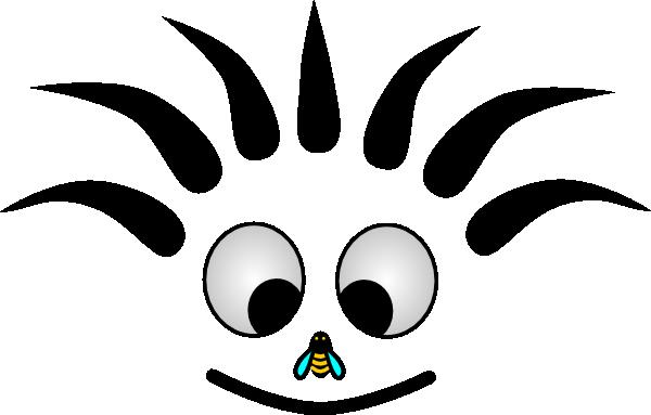600x383 Happy Cartoon Face Clip Art