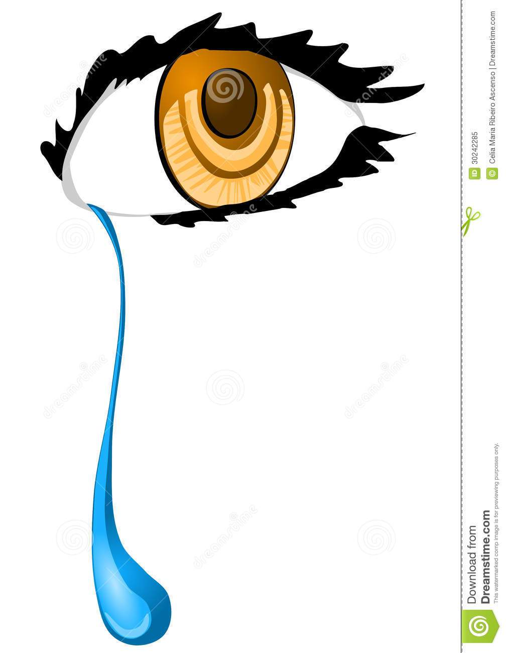 1008x1300 Crying Tears Clipart