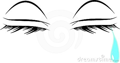 400x212 Crying Eyes Clipart