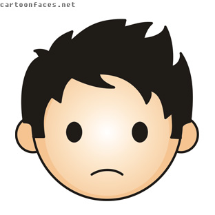 Sad Face Cartoon Images