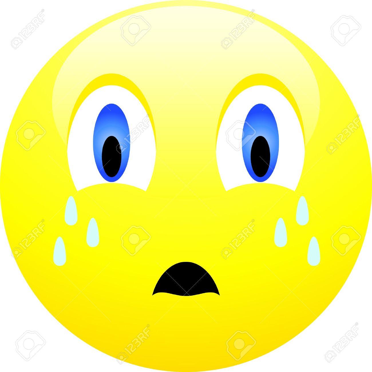1300x1300 Tears Clipart Sad Face