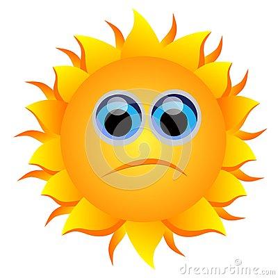 400x400 Sad Sun Clipart