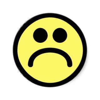 320x320 Sad Face Smiley Clip Art Images Image 2 Clipartix 2