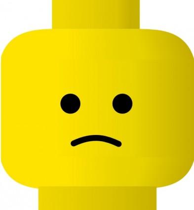 393x425 Sad Face Vector Clip Art Clipartix 2