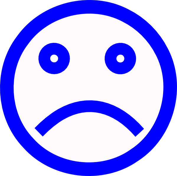 600x596 Sad Face Clipart Black And White Free Images 3