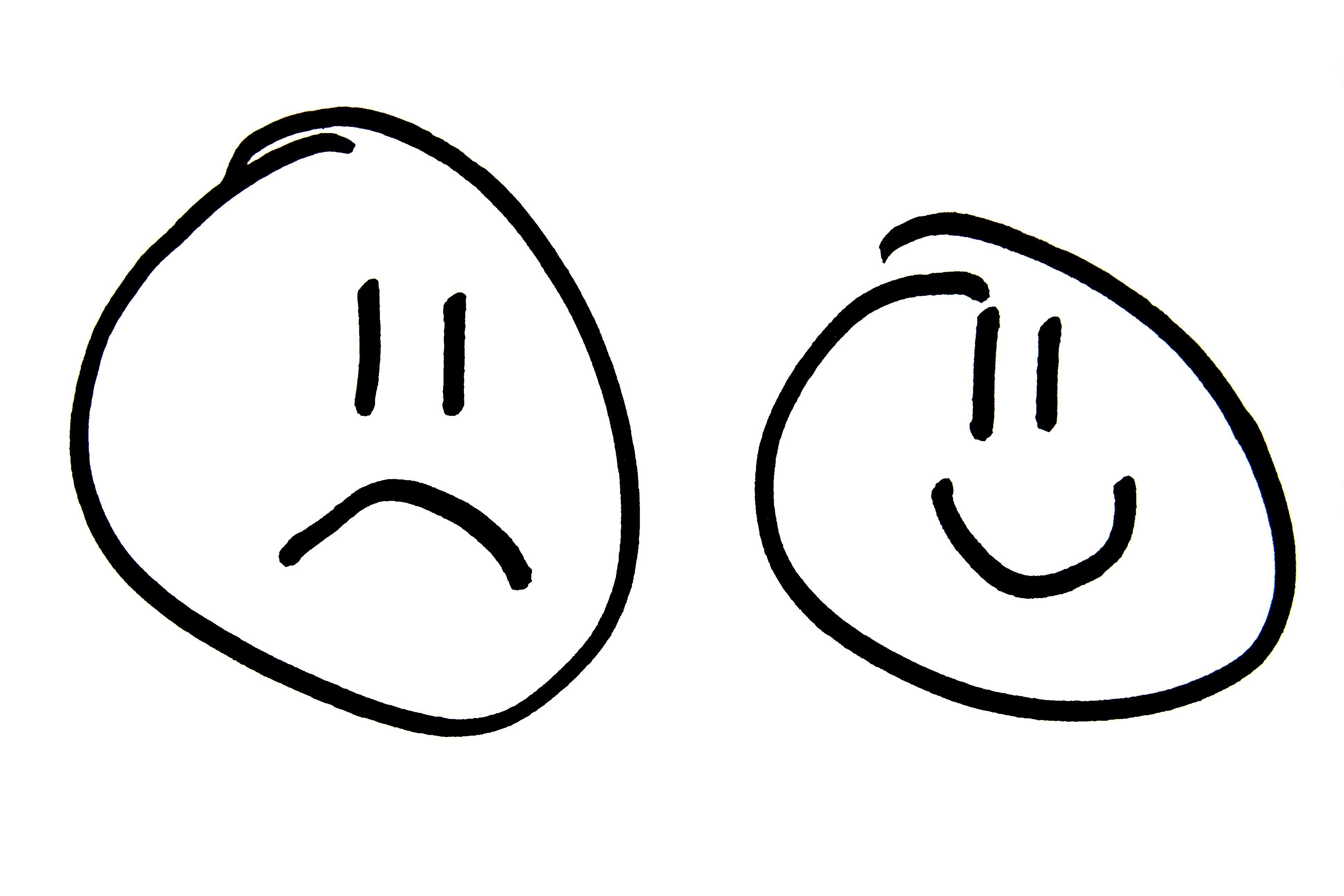 3888x2592 Hd Sad Face Clip Art Image Clipartix Design