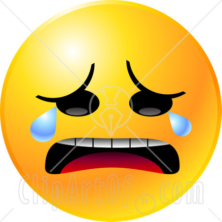 450x450 Crying Smiley Face Clipart