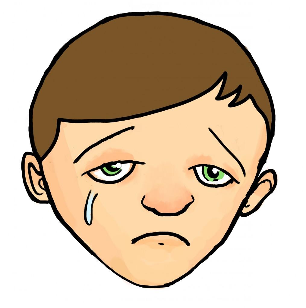 1015x1024 Drawn Sadness Human Face