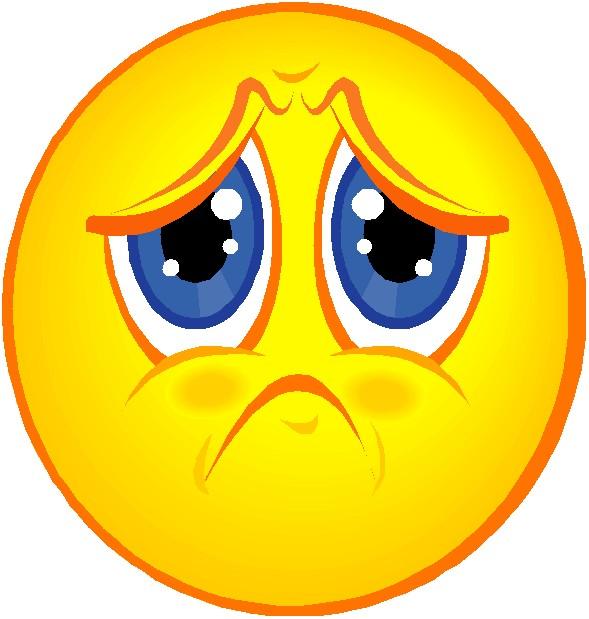 589x619 Sad Face Clipart