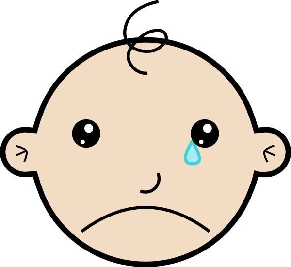 600x550 Sad Face Crying Clipart 2237411