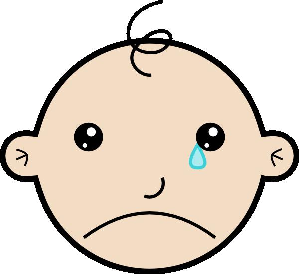 600x550 Sad Face Crying Clipart 2237411