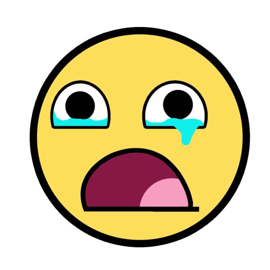 894x894 Sad Face Crying Clipart