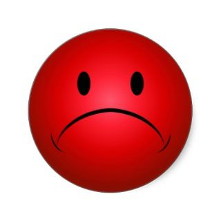 320x320 Sad Face Clipart 2