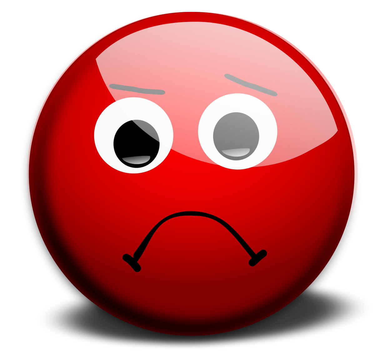 1200x1147 A Sad Face Clipart Image
