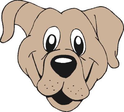 400x363 Dog Sad Face Clipart