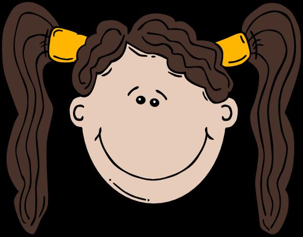594x465 Global Art Cartoon Girl Face Sad
