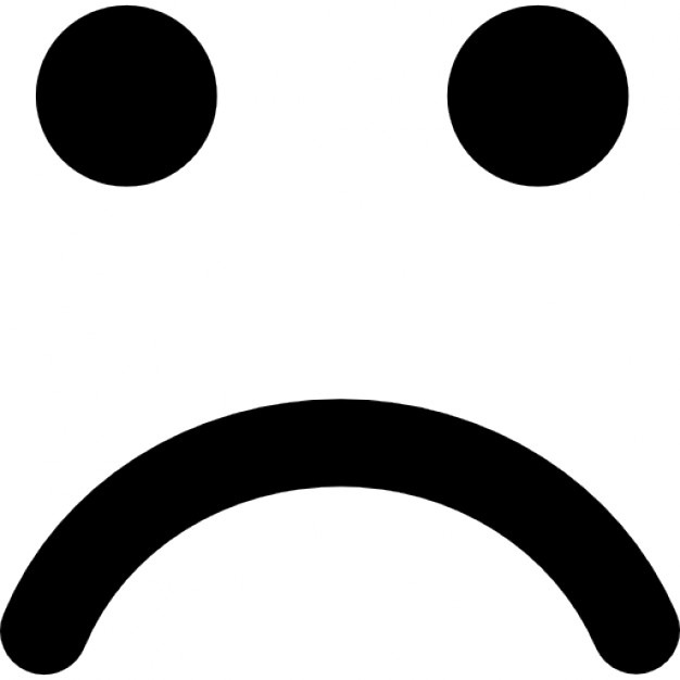 626x626 Graphics For Sad Face Vector Graphics