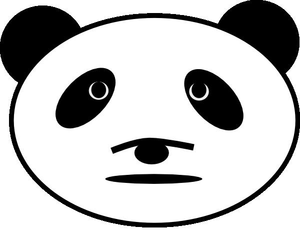 600x469 Sad Panda Bear Clip Art