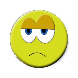 324x324 Sadness Stickers Zazzle