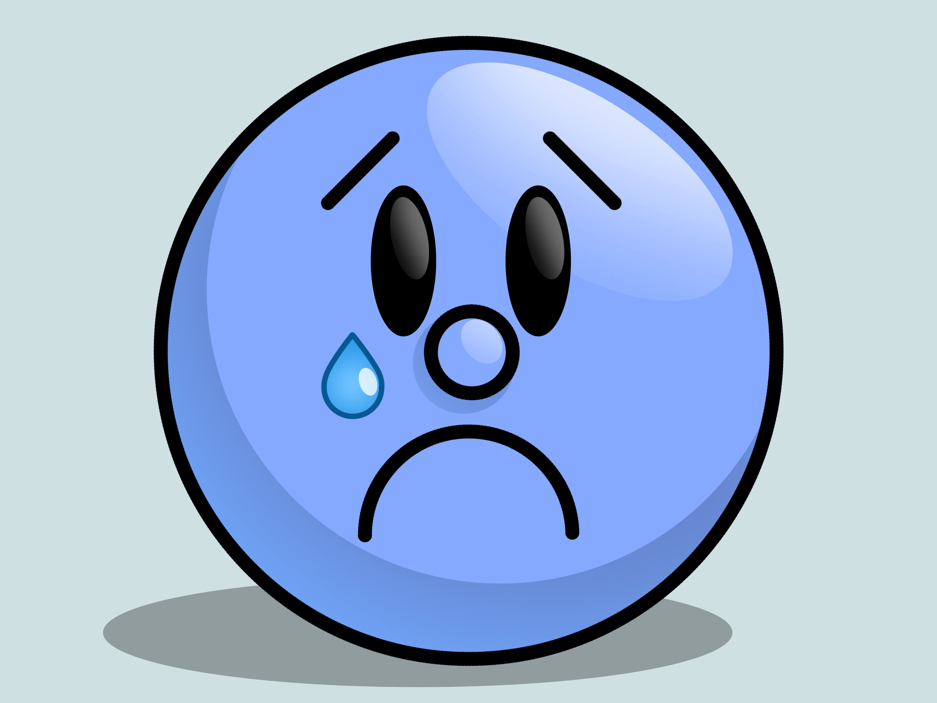 Sad Face Picture Cartoon | Free download on ClipArtMag